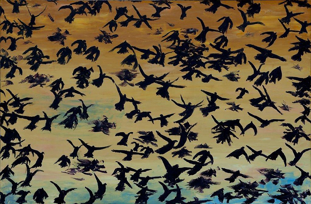 Люди. Птицы.