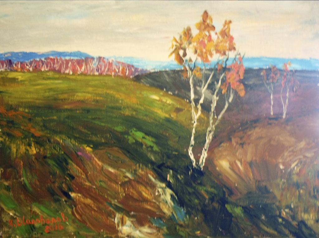 Осень на киевских холмах